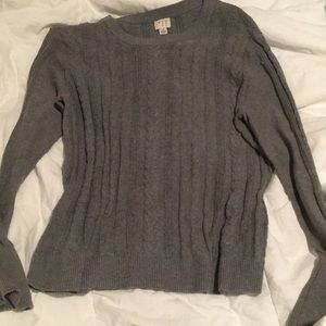 A New Day grey sweater